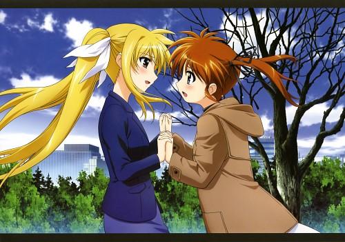 Seven Arcs, Mahou Shoujo Lyrical Nanoha, MSLN The Movie 2nd A's Visual Collection First, Fate Testarossa, Nanoha Takamachi