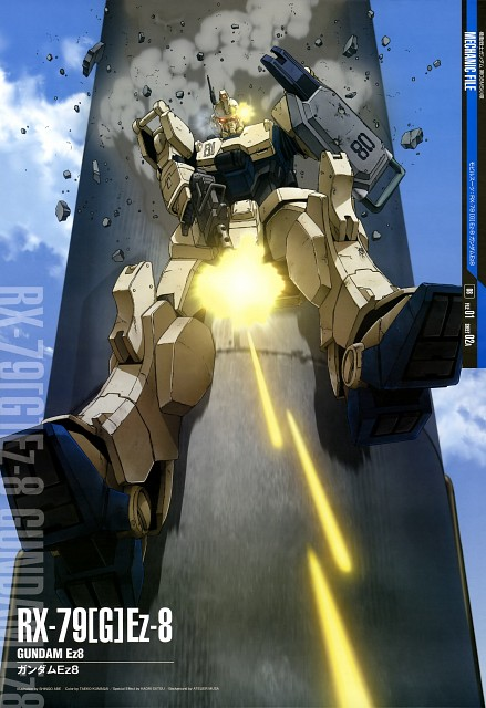 Sunrise (Studio), Mobile Suit Gundam: The 08th MS Team, Gundam Perfect Files