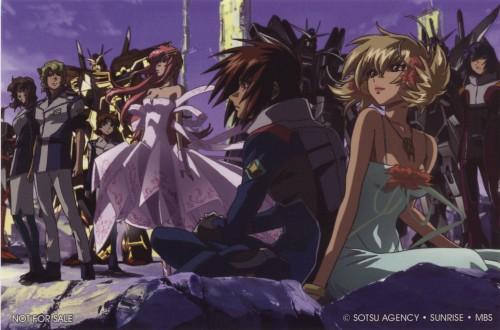 Sunrise (Studio), Mobile Suit Gundam SEED Destiny, Miriallia Haw, Kira Yamato, Mu La Flaga