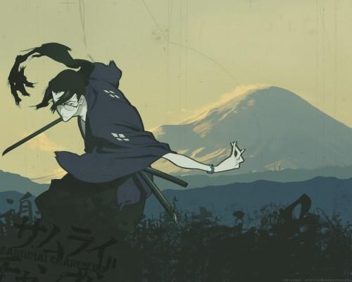 Manglobe, Samurai Champloo, Jin Wallpaper