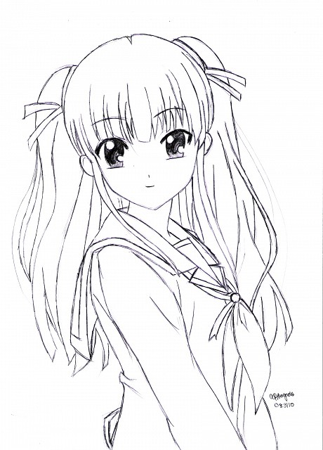 Na-Ga, Key (Studio), Angel Beats!, Yusa (Angel Beats!), Member Art