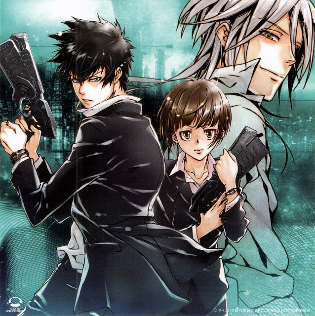 Akira Amano, Production I.G, PSYCHO-PASS, Shinya Kougami, Shougo Makishima