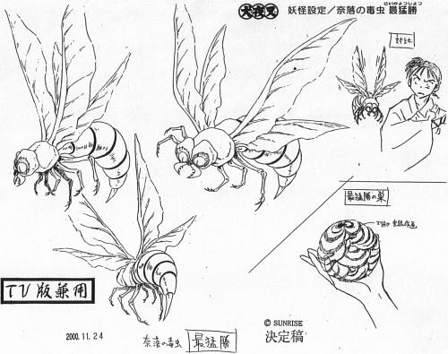 Rumiko Takahashi, Sunrise (Studio), Inuyasha, Miroku, Character Sheet