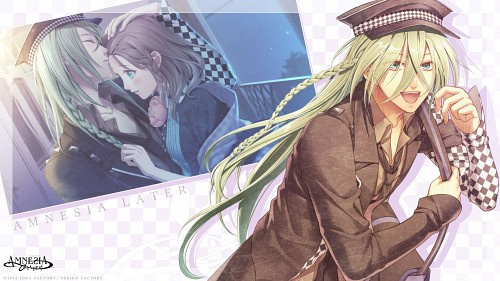 Mai Hanamura, Idea Factory, AMNESIA, Ukyo (AMNESIA), Official Wallpaper