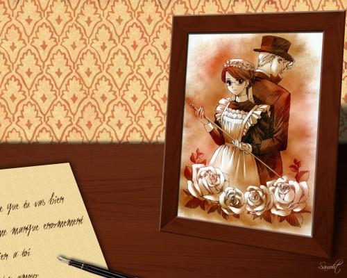 Kaoru Mori, Carnelian, Studio Pierrot, Victorian Romance Emma, William Jones Wallpaper