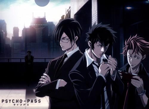 Production I.G, PSYCHO-PASS, Kagari Shuusei, Shinya Kougami, Ginoza Nobuchika