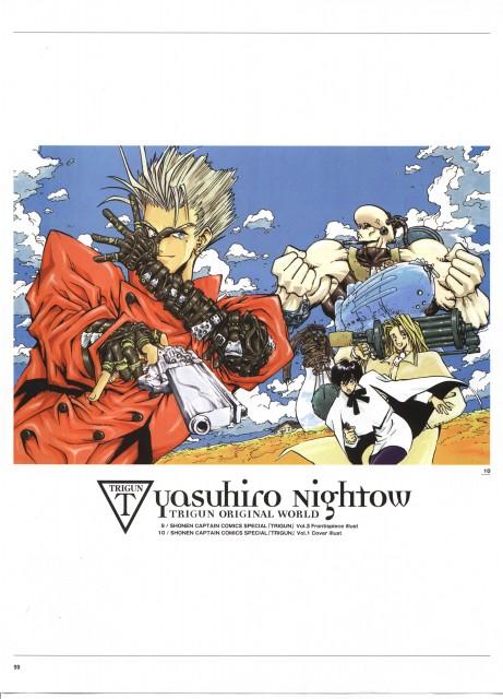 Yasuhiro Nightow, Madhouse, Trigun, The Collected Paintings Mini Book of Trigun Maximum, Milly Thompson