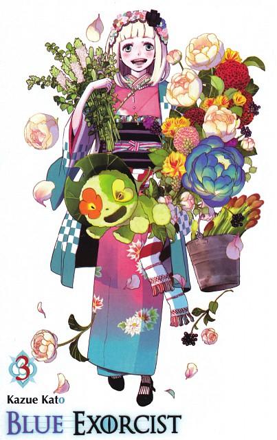 Kazue Katou, Ao no Exorcist, Nii Chan, Shiemi Moriyama, Manga Cover
