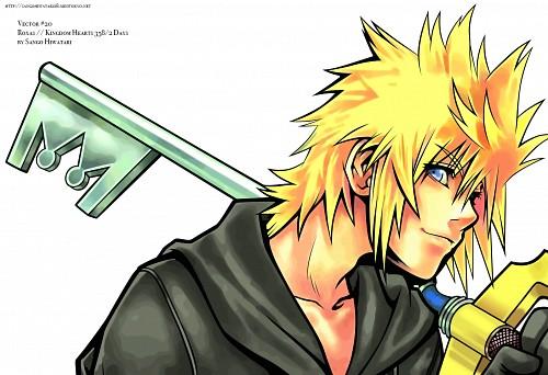 Square Enix, Kingdom Hearts, Roxas, Vector Art