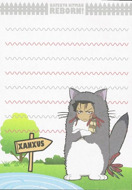 Akira Amano, Artland, Katekyo Hitman Reborn!, Xanxus