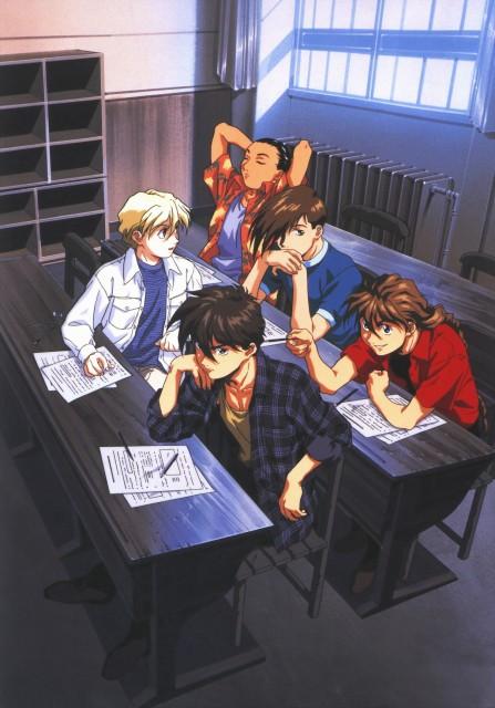 Sunrise (Studio), Mobile Suit Gundam Wing, Chang Wufei, Duo Maxwell, Heero Yuy