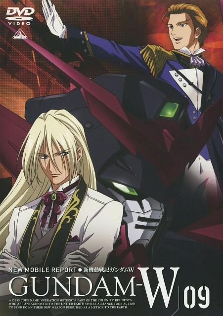 Bandai Visual, Sunrise (Studio), Mobile Suit Gundam Wing, Treize Khushrenada, Zechs Merquise