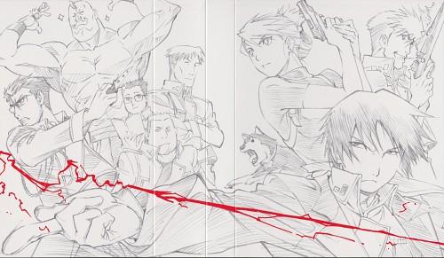 Hiromu Arakawa, BONES, Fullmetal Alchemist, Roy Mustang, DVD Cover