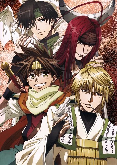 Kazuya Minekura, Platinum Vision, Saiyuki, Genjyo Sanzo, Cho Hakkai