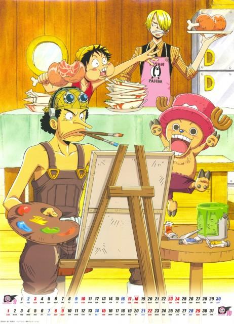 Eiichiro Oda, One Piece, Tony Tony Chopper, Sanji, Monkey D. Luffy