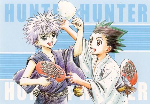 Yoshihiro Togashi, Hunter x Hunter, Killua Zaoldyeck, Gon Freecss