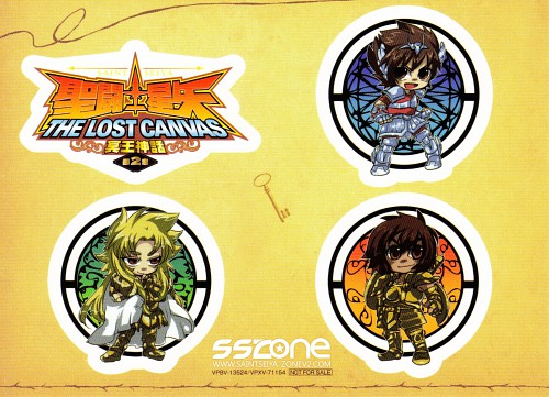 Shiori Teshirogi, Saint Seiya: The Lost Canvas, Libra Dohko, Aries Shion, Pegasus Tenma