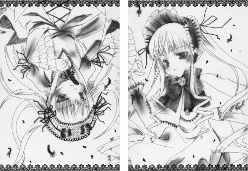 Minato Hiromu, Rozen Maiden, Blue Wind - Dolls, Suigintou, Shinku