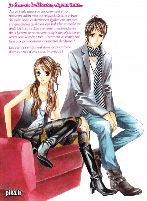 Ayu Watanabe, L DK, Shuusei Kugayama, Aoi Nishimori, Manga Cover