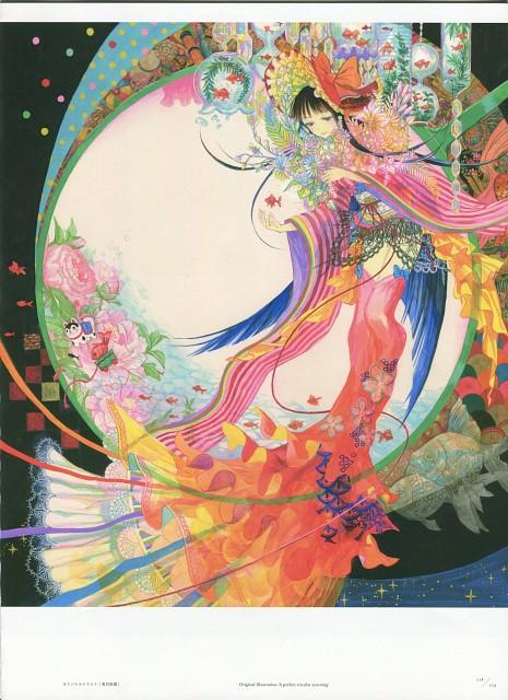 Fujiwara, Gokusai Shoujo Sekai, Pixiv, Album Cover