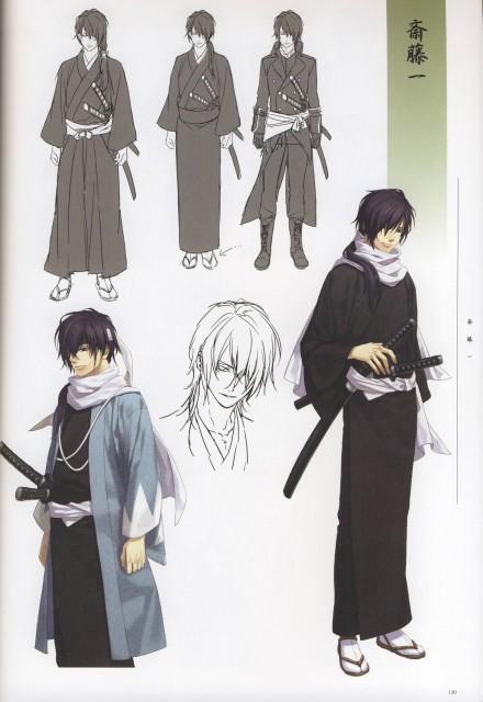 Yone Kazuki, Idea Factory, Studio Deen, Hakuouki Shinsengumi Kitan, Hajime Saitou (Hakuouki)