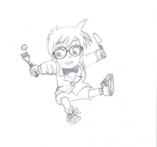 Detective Conan, Conan Edogawa, Member Art