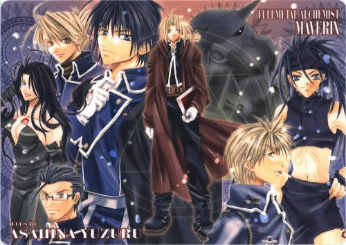 Yuzuru Asahina, Fullmetal Alchemist, Envy, Jean Havoc, Alphonse Elric