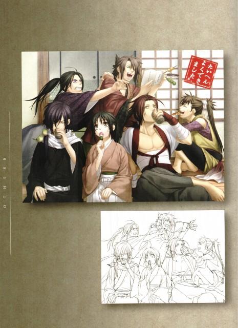 Yone Kazuki, Idea Factory, Hakuouki Shinsengumi Kitan, Heisuke Toudou (Hakuouki), Sanosuke Harada (Hakuouki)