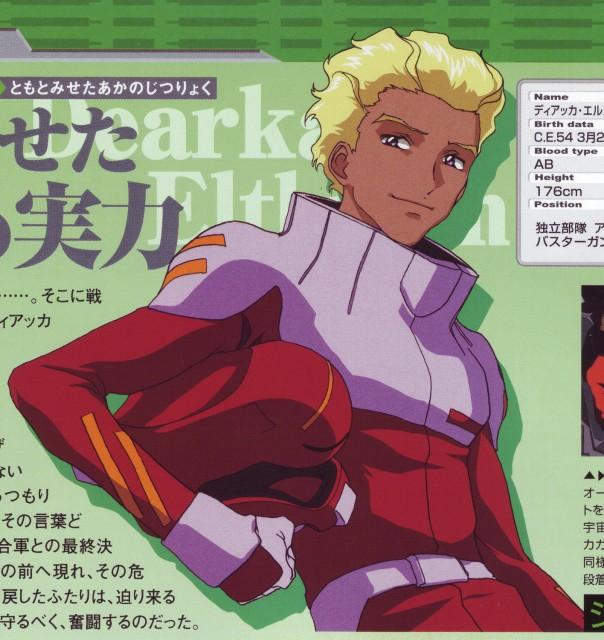 Hisashi Hirai, Sunrise (Studio), Mobile Suit Gundam SEED, Dearka Elthman