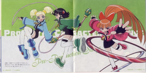 Toei Animation, Powerpuff Girls Z, Rolling Bubbles , Hyper Blossom, Powered Buttercup