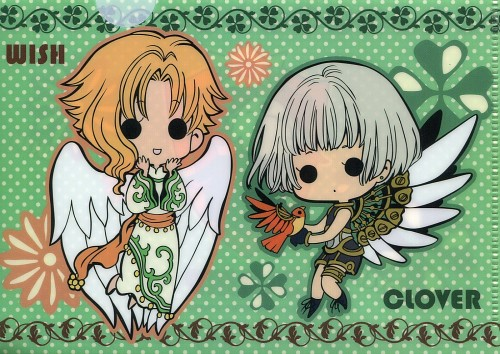 CLAMP, Clover, Wish, Suu, Kohaku