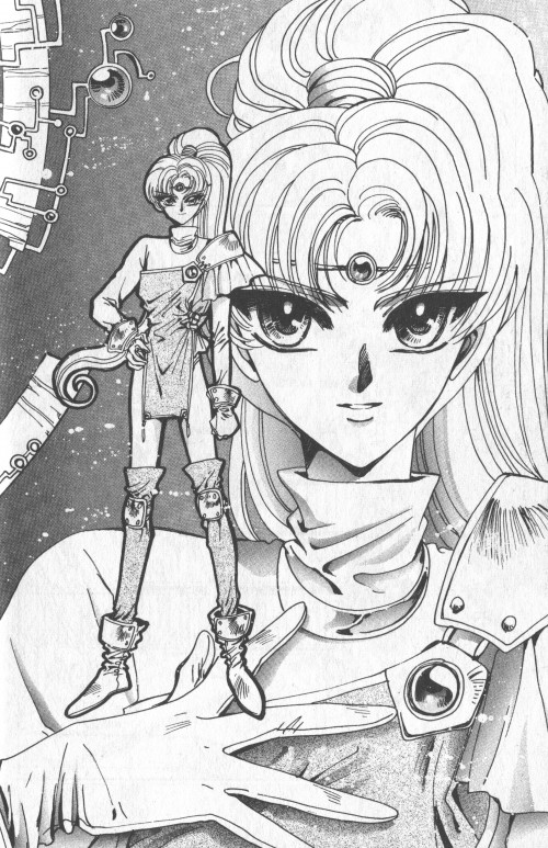 Magic Knight Rayearth, Presea