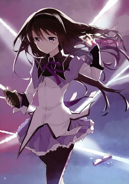 Tiv, Atelier Tiv, Puella Magi Madoka Magica, Life of Negentropy, Homura Akemi