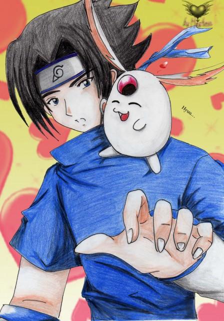 Masashi Kishimoto, Studio Pierrot, Naruto, Mokona, Sasuke Uchiha