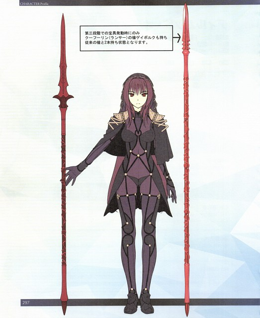 TYPE-MOON, DELiGHTWORKS, Fate/Grand Order, Scathach