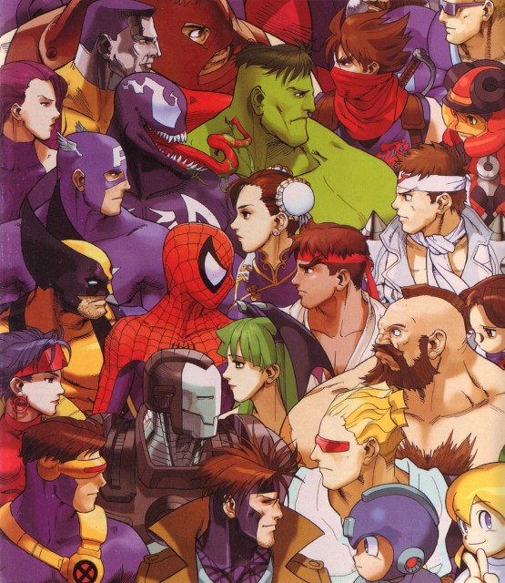 Marvel, Capcom, Spiderman (Series), Marvel vs Capcom 3, Roll Caskett