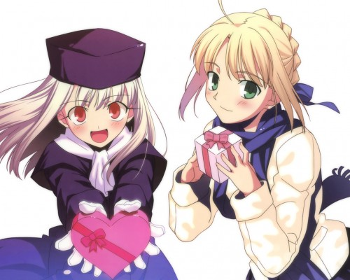 TYPE-MOON, Fate/stay night, Illyasviel von Einzbern, Saber
