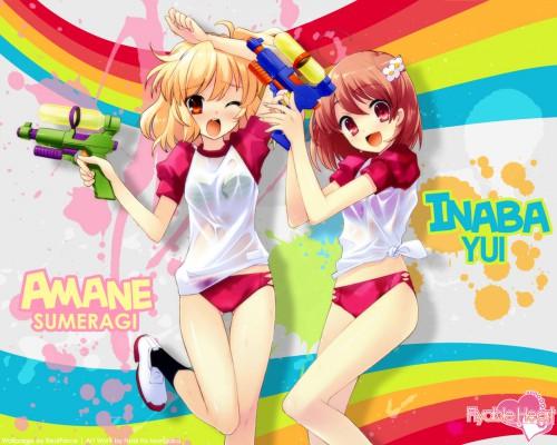 Noizi Ito, UNiSONSHIFT, Flyable Heart, Amane Sumeragi, Yui Inaba Wallpaper