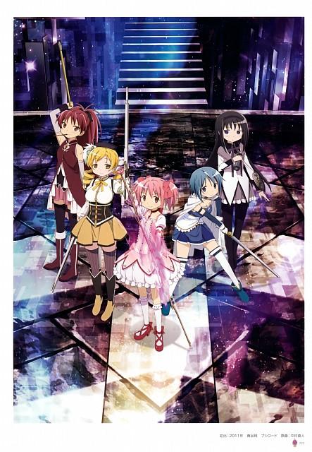 Shaft (Studio), Puella Magi Madoka Magica, Key Animation Note Vol 6, Sayaka Miki, Kyouko Sakura