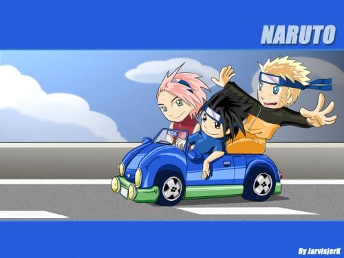 Masashi Kishimoto, Studio Pierrot, Naruto, Naruto Uzumaki, Sakura Haruno Wallpaper