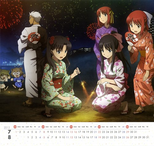 Tomohito Hirose, Lerche, TYPE-MOON, Carnival Phantasm, Carnival Phantasm 2012 Calendar