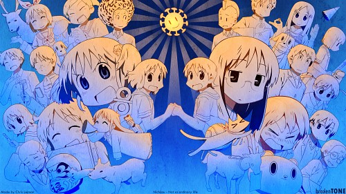 Nichijou Wallpaper
