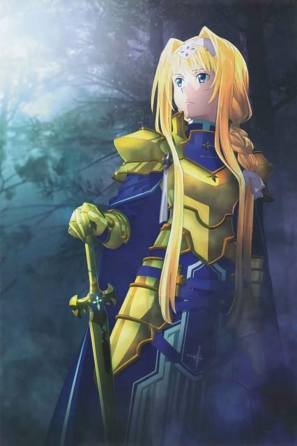 Abec, A-1 Pictures, Sword Art Online, Alice Schuberg, Album Cover