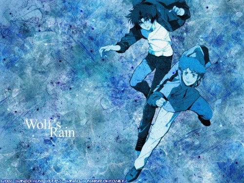 BONES, Wolf's Rain, Hige, Kiba (Wolf's Rain) Wallpaper