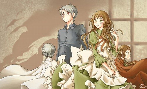 Studio DEEN, Hetalia: Axis Powers, Hungary, Prussia, Member Art