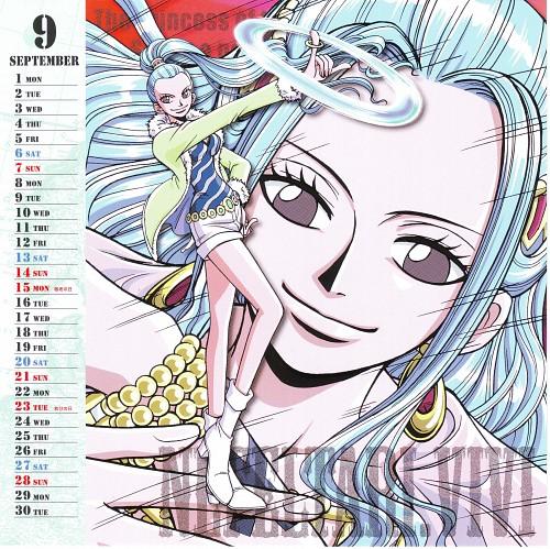 Eiichiro Oda, Toei Animation, One Piece, Nefeltari Vivi, Calendar