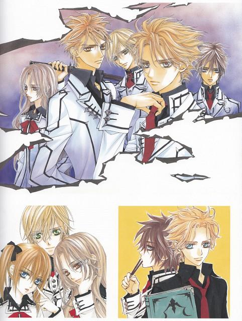 Matsuri Hino, Vampire Knight, Hino Matsuri Illustrations: Vampire Knight, Rima Touya, Akatsuki Kain