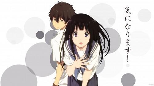 Kyoto Animation, Hyouka, Houtarou Oreki, Eru Chitanda Wallpaper