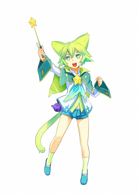 Namco, Tales of the World: Reve Unitia, Terun, Official Digital Art