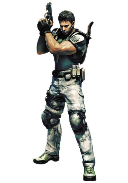 Capcom, Resident Evil 5, Chris Redfield, Official Digital Art